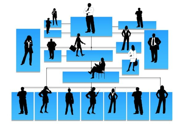 silhouettes, hierarchy, human